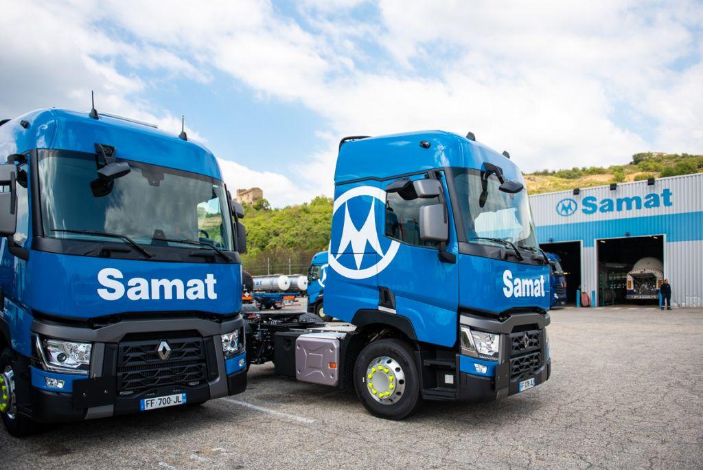 Samat, offre logistique complète