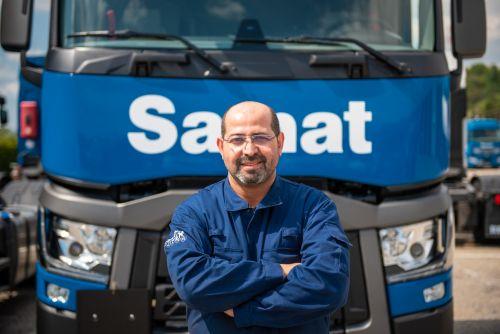conducteur Samat